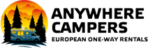 Anywhere Campers Camperverhuur - Auto Europe